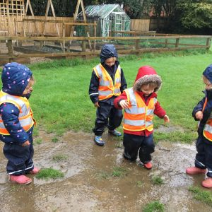 Nursery puddles